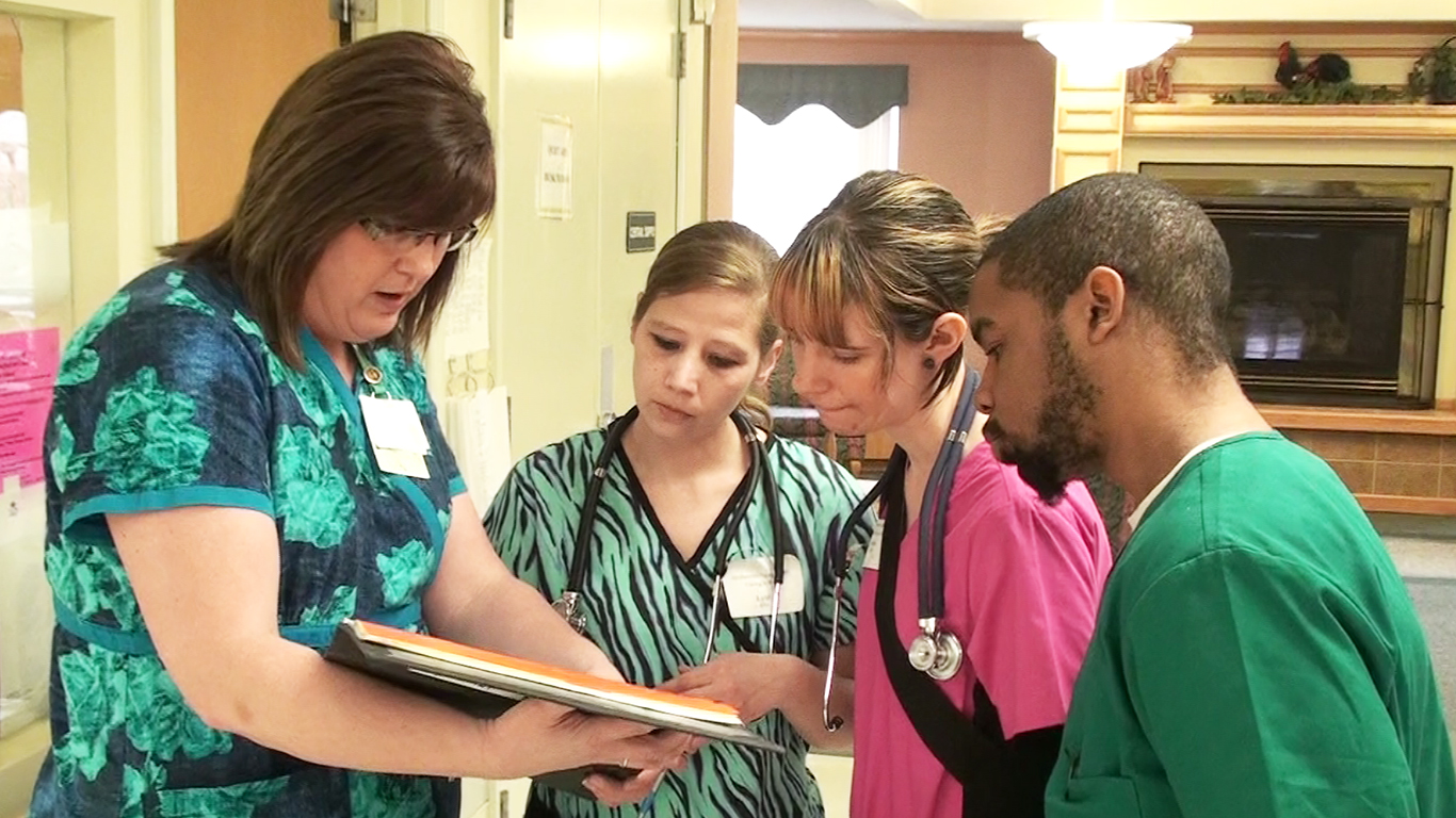 Cna Training Offered By Michigan Works And Manistee Medical Care