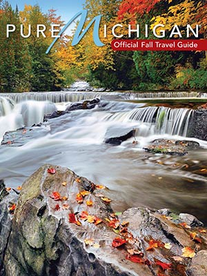 Pure Michigan Fall Travel Guide cover