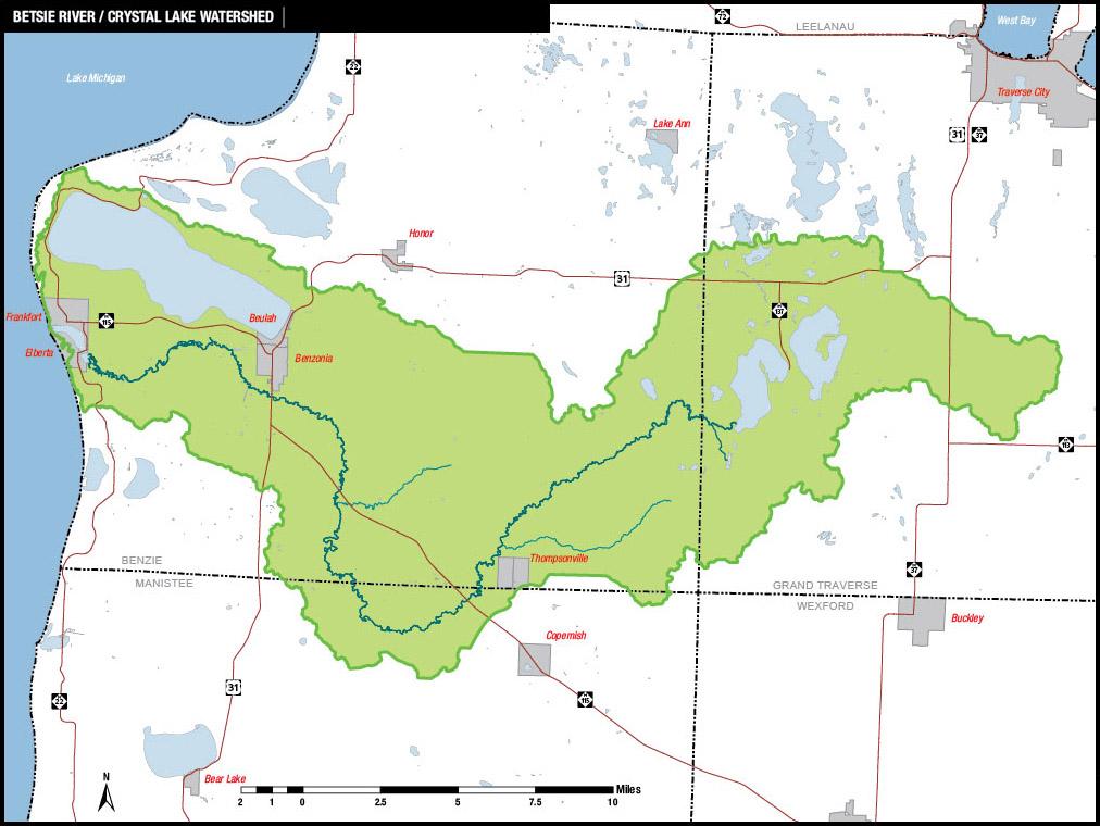 Betsie River / Crystal Lake Watershed Management Plan